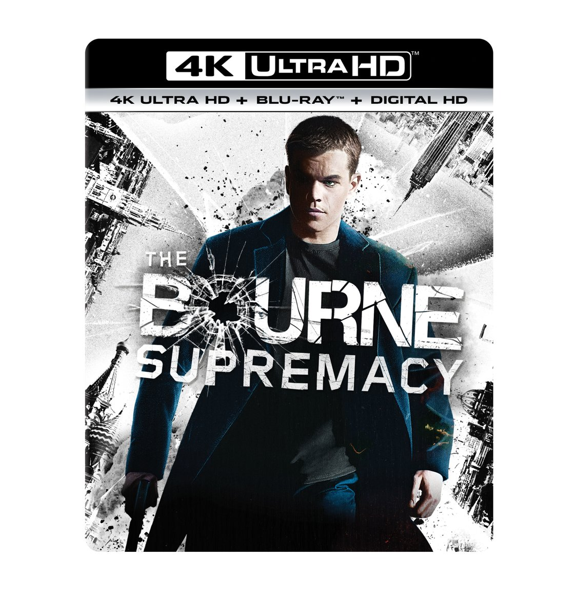 Bourne Supremacy (4K Ultra HD Blu-ray)-
