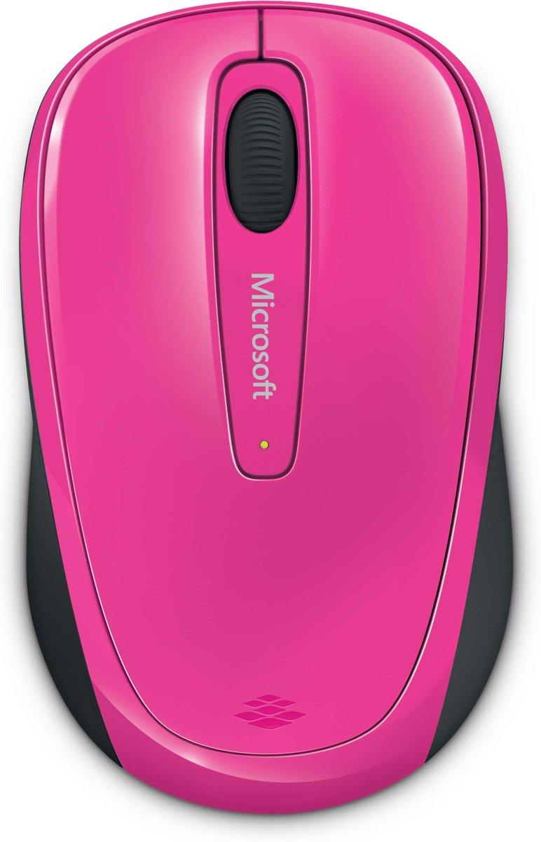 Microsoft Wireless Mobile 3500 - Draadloze Muis / Roze