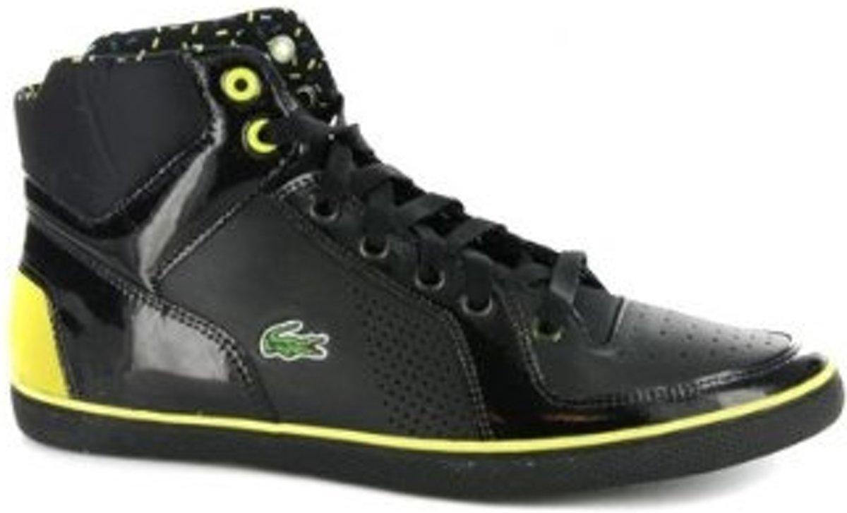 wiele modnych najniższa zniżka Nowe zdjęcia bol.com | Lacoste Niseko 2 Hi Hoge Sneaker Dames Zwart Maat 40.5