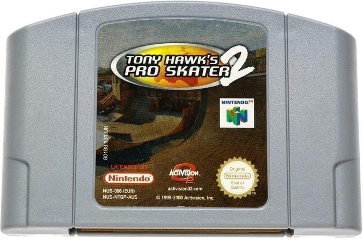 Tony Hawk`s Pro Skater 2 - Nintendo 64 [N64] Game PAL kopen