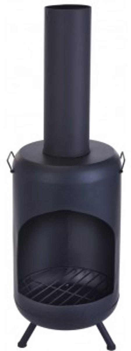 vuurkorf - terrashaard - tuinhaard - terraskachel - tuinverwarmer 124 cm