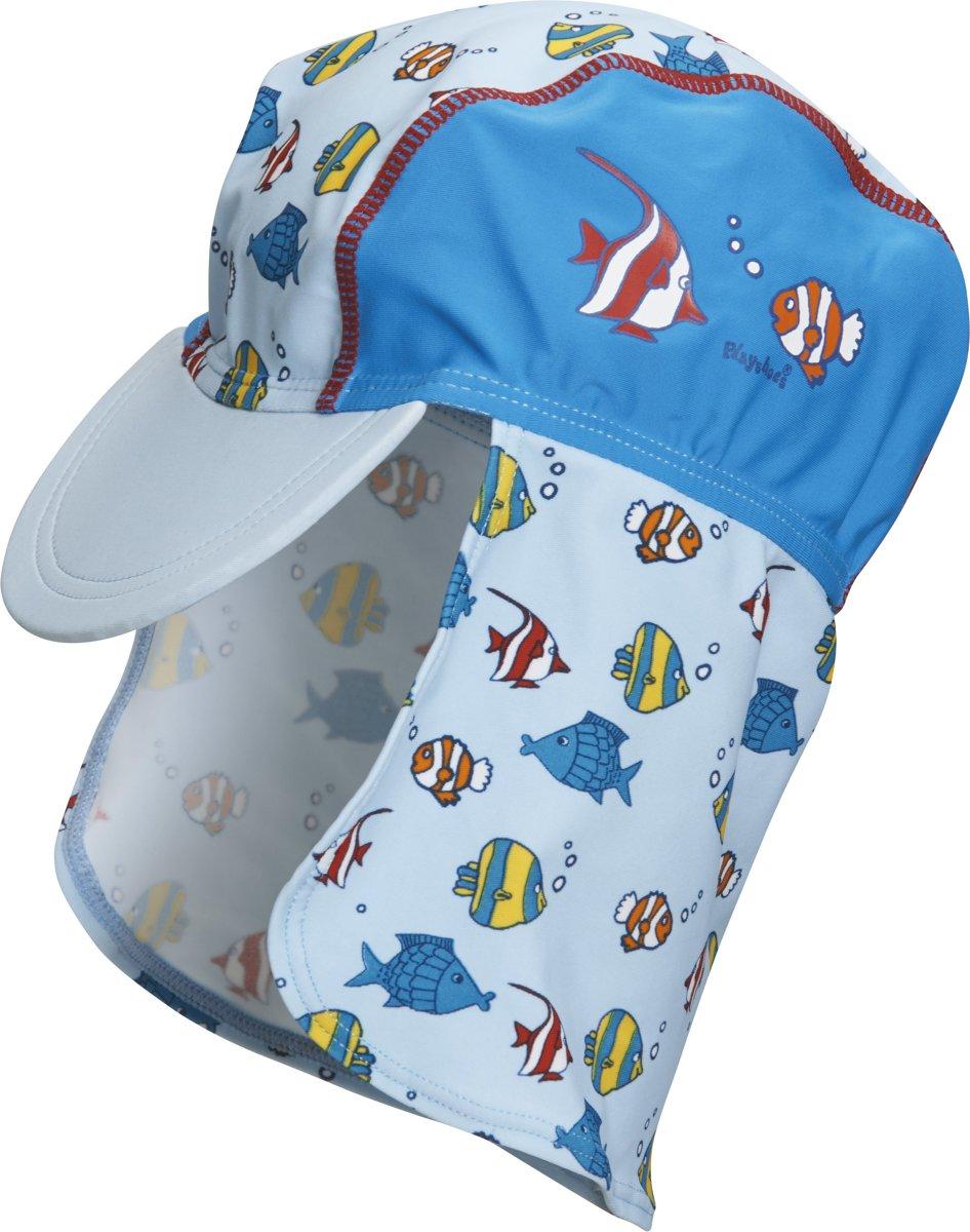 Playshoes - UV petje voor in de zon - Vissen 53cm kopen