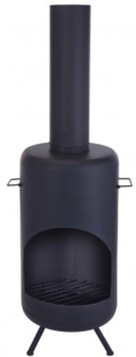 vuurkorf - terrashaard - tuinhaard - terraskachel - tuinverwarmer- 150 cm