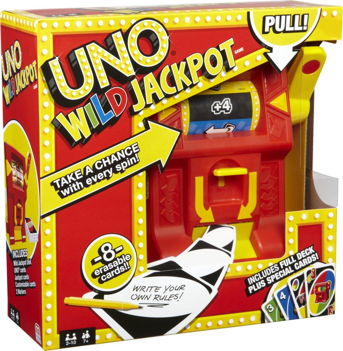 UNO Jackpot - familie spel voor €16,98