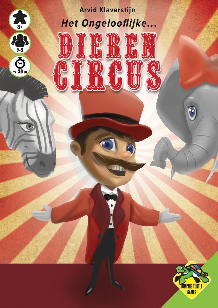 Het Ongelooflijke Dierencircus - Kaartspel met circusthema kopen