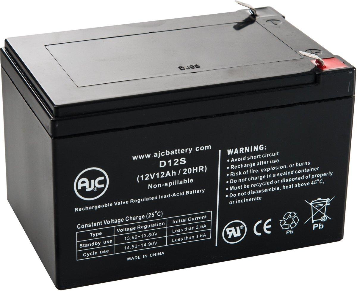 AJC� battery compatibel met BMX Electric Scooter 12V 12Ah Step accu