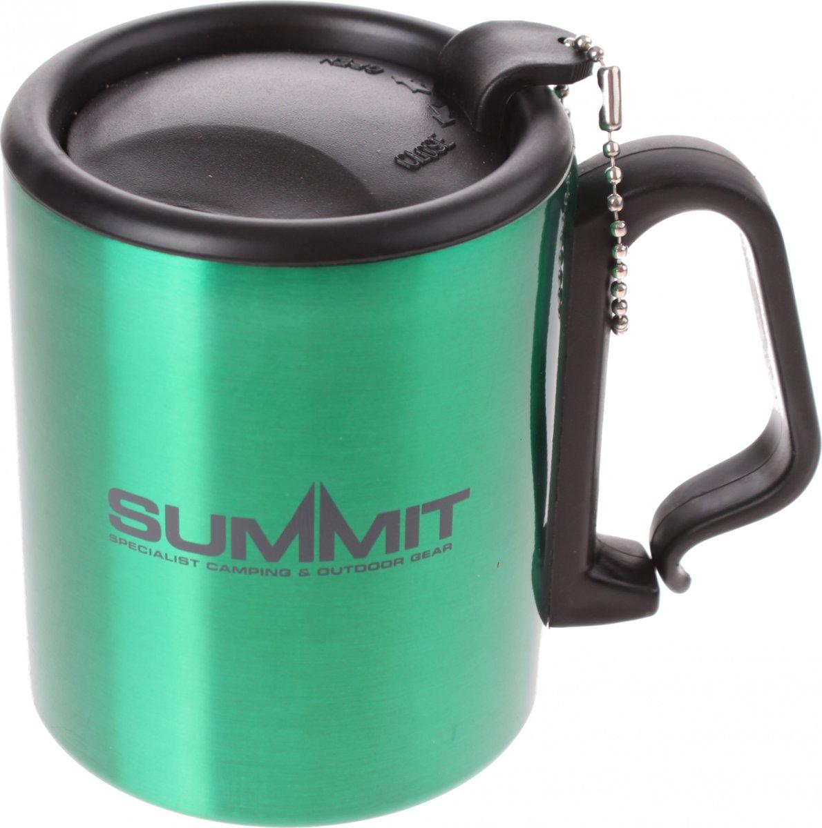 Summit Drinkbeker Met Deksel Aluminium Groen 300 Ml kopen