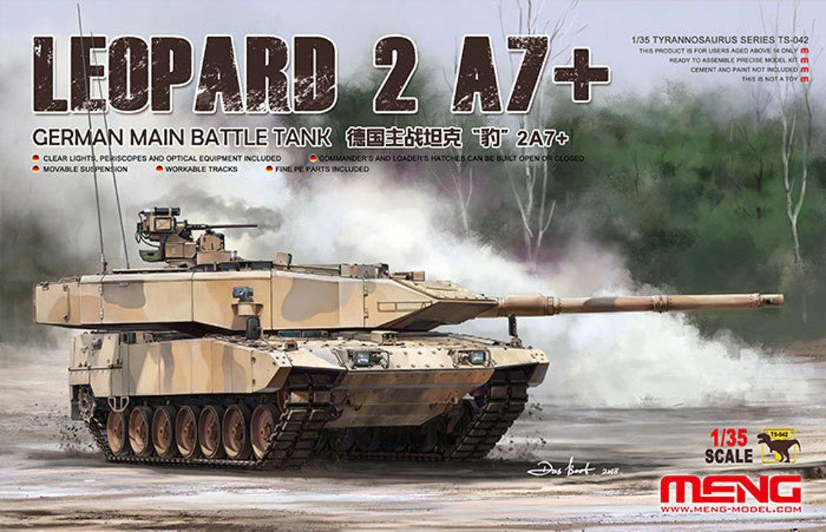 1:35 Leopard 2a7+