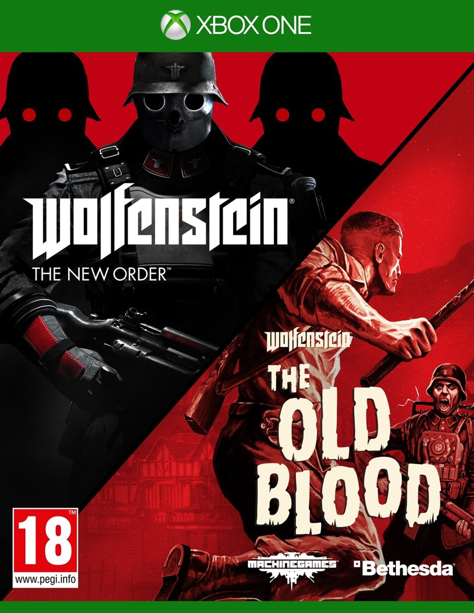 Wolfenstein: The New Order & The Old Blood Double Pack Xbox One