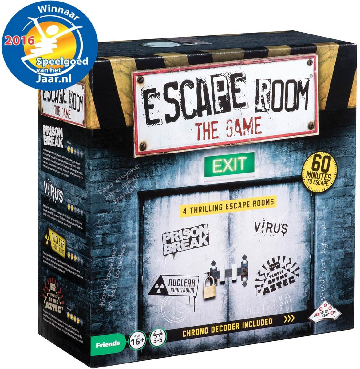 Identity Games Escape Room The Game Gezelschapsspel