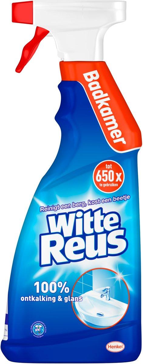 bol.com | Witte Reus Badkamer reiniger - 750ml - Badkamer reiniger