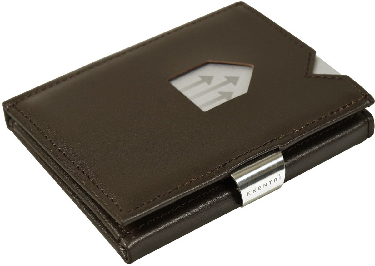 0a0353d230c bol.com | Exentri Leather Wallet Brown