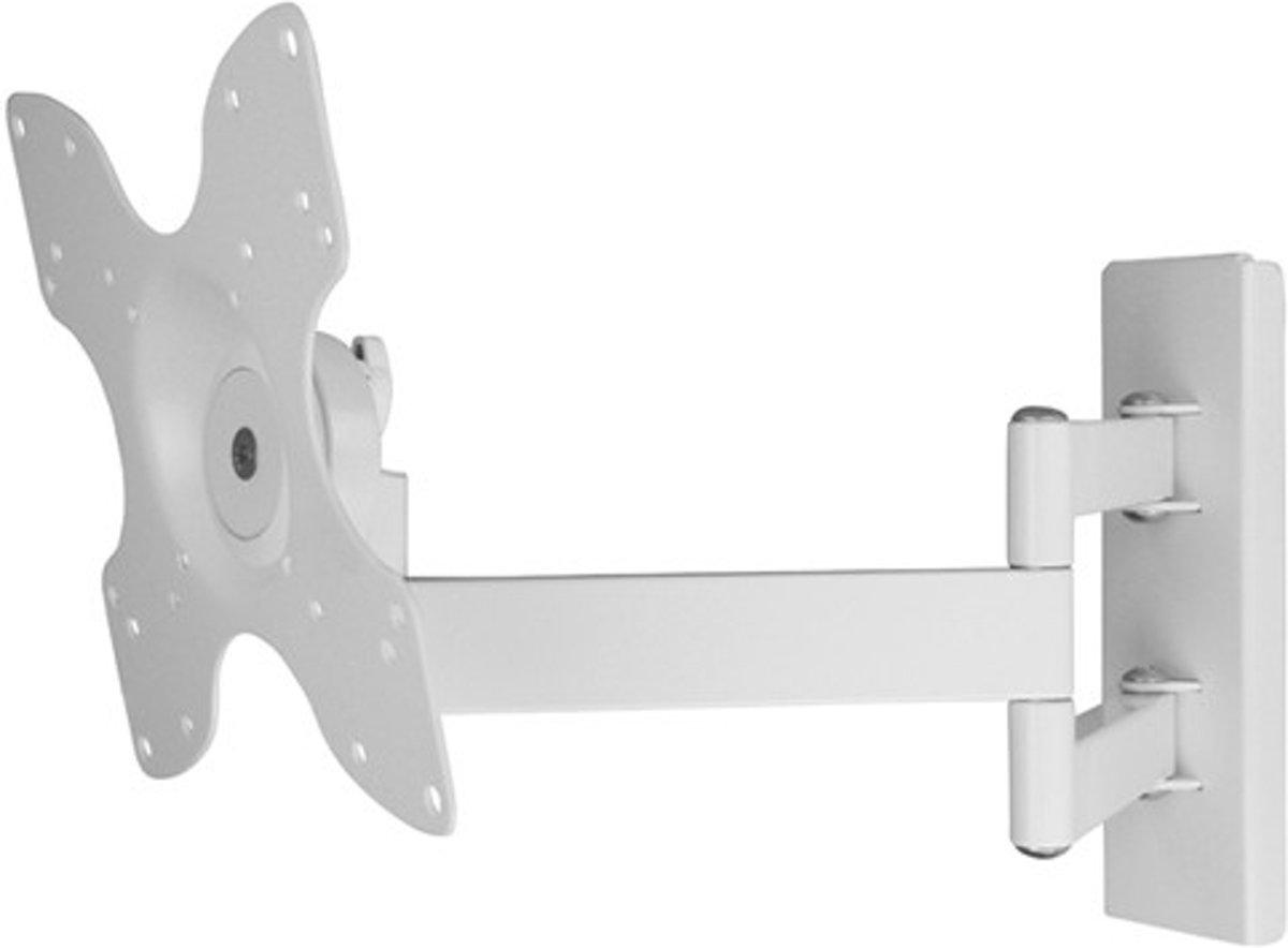 DQ Rotate Triple L - Kantelbare en draaibare muurbeugel - Geschikt voor tv's van 24 t/m 40 inch - Wit kopen