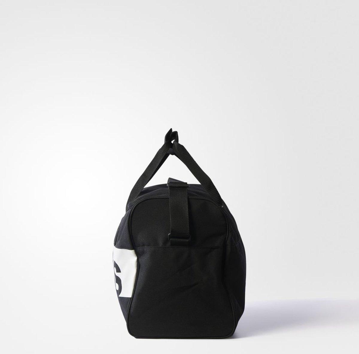 636a7495838 bol.com | adidas Linear Performance Teambag M Sporttas Unisex -  Black/White/White