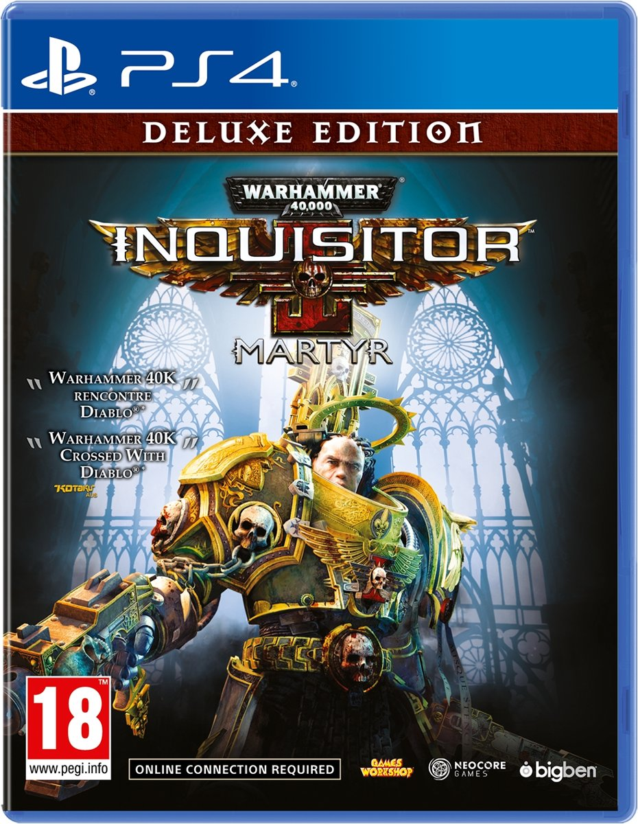 Warhammer 40K Inquisitor Martyr - Deluxe Edition PlayStation 4