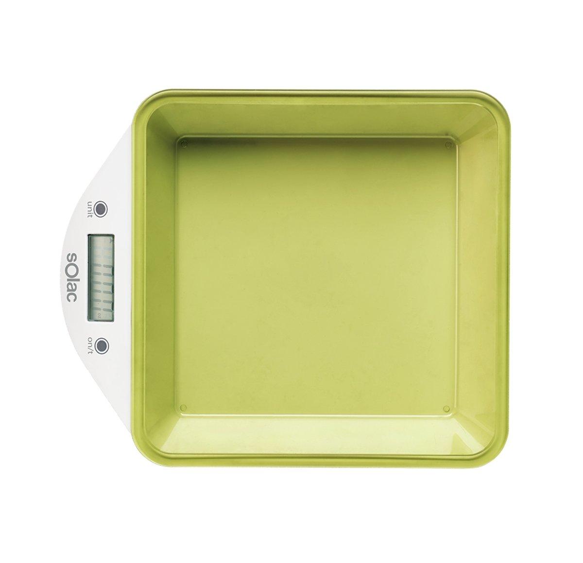 Solac BC6260 Tafelblad Elektronische keukenweegschaal Multi kleuren keukenweegschaal