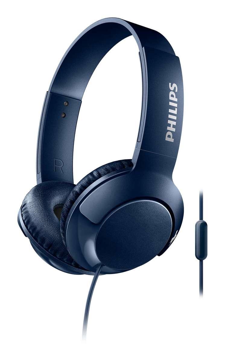 Philips SHL3075 - On-ear koptelefoon - Blauw kopen