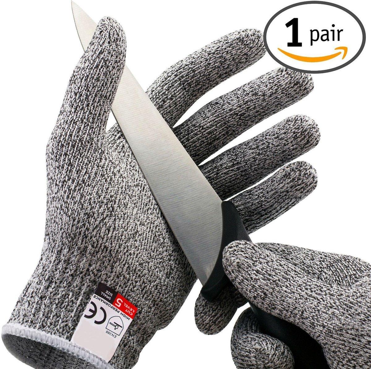 Snijwerende handschoenen - Cut Resistant BÖR Gloves - CE gecertifieerd