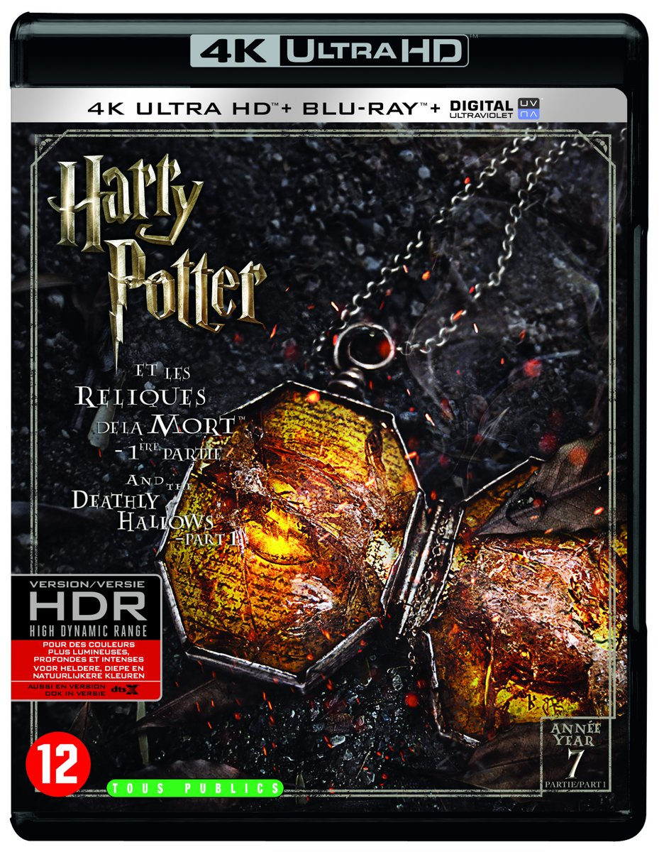 Harry Potter And The Deathly Hallows: Part 1 (4K Ultra HD Blu-ray)-