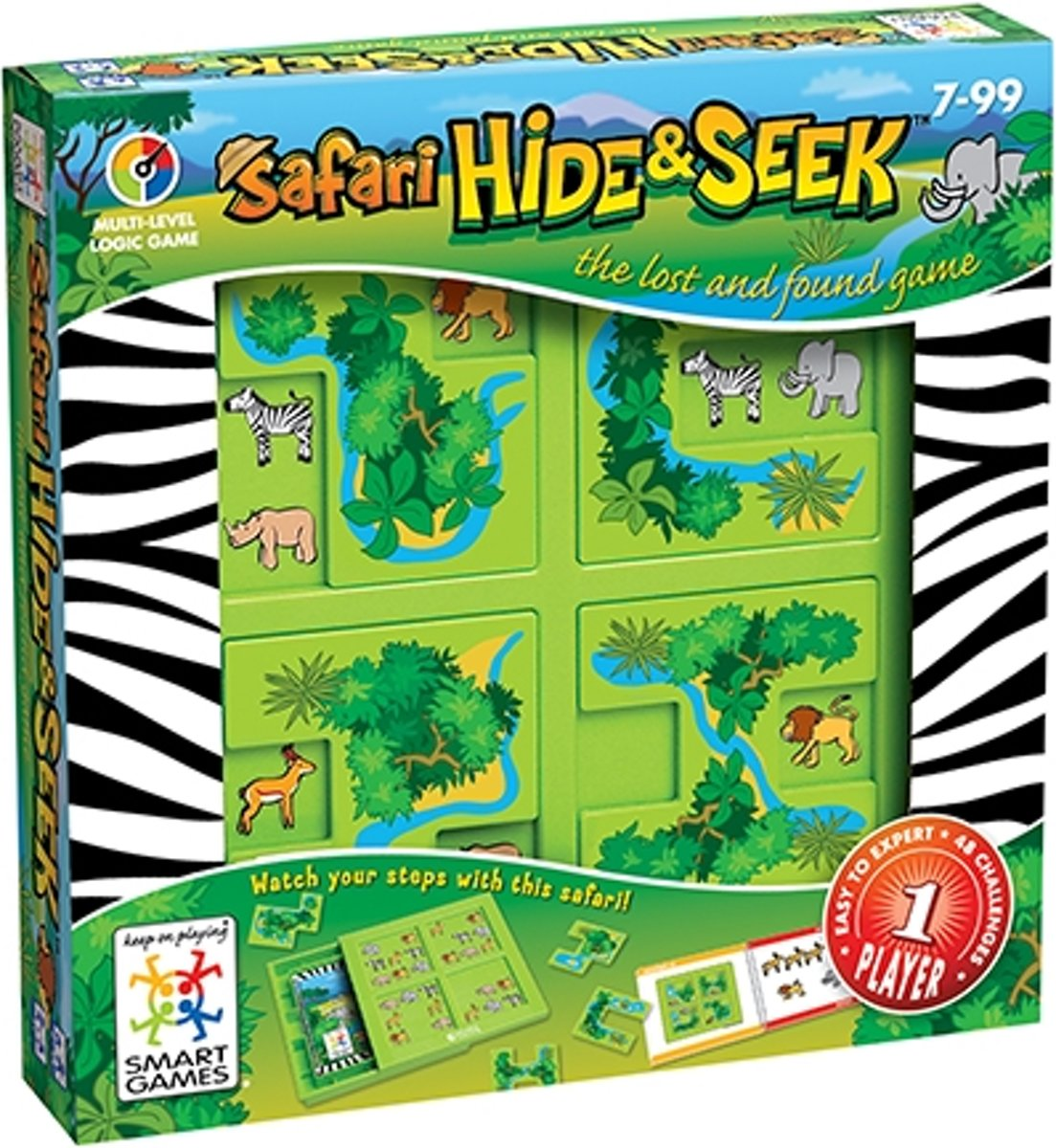 Smart Games spel Hide & Seek - Safari