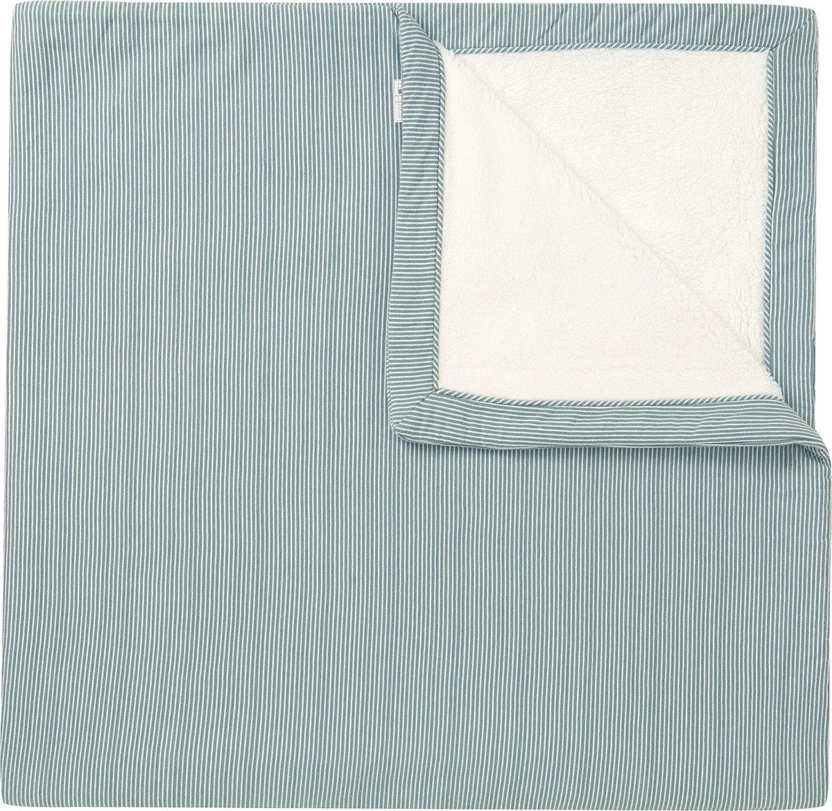 Noppies Deken Noceto 75x100 cm - Dark Green - Maat 75 x 100 cm