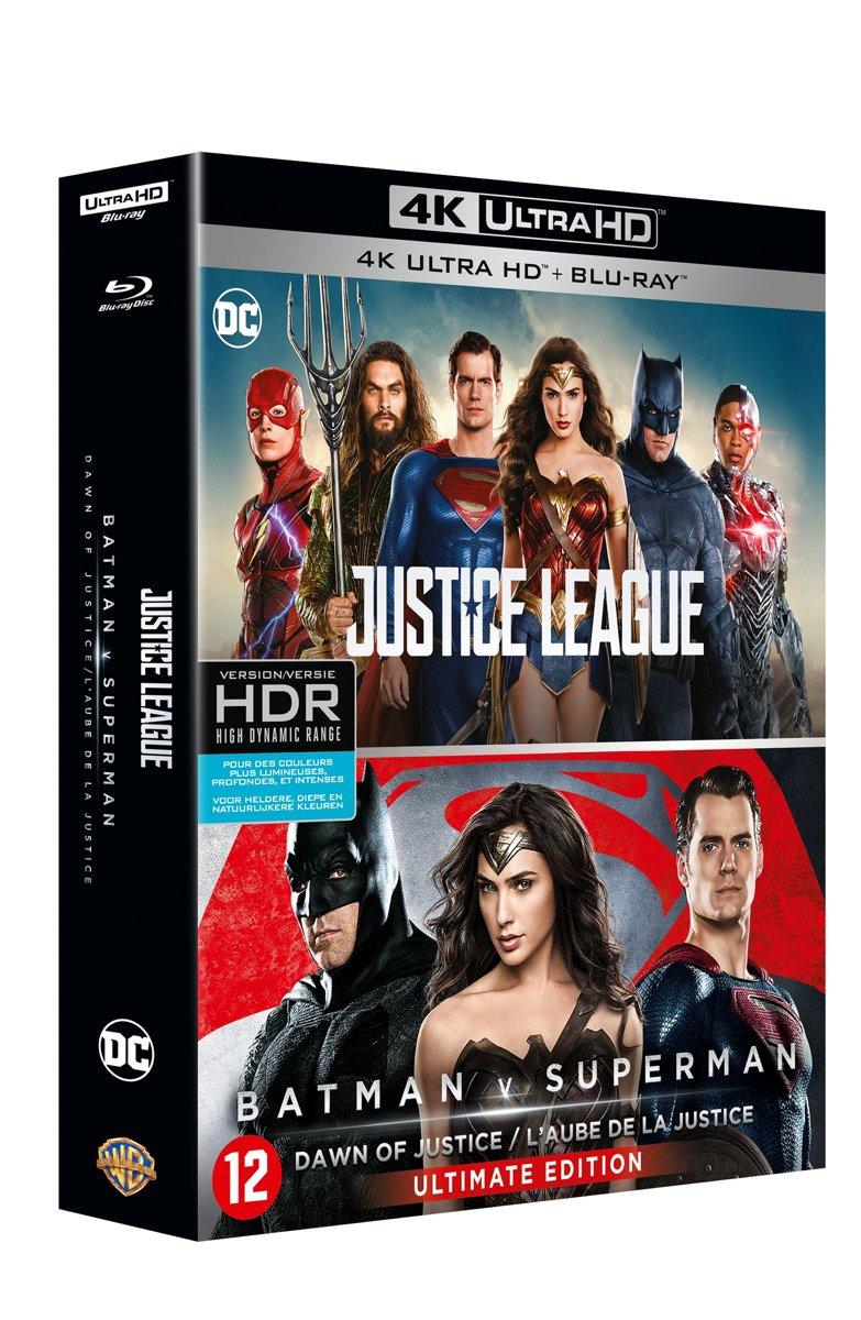 Justice League & Batman V Superman (4K Ultra HD Blu-ray)-