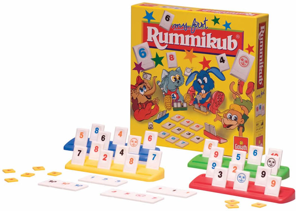 Rummikub Junior - Kinderspel - Goliath