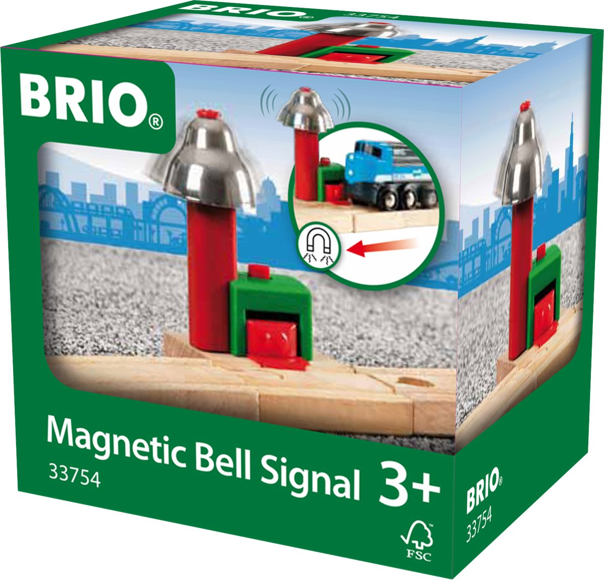 Brio - magnetisch belsignaal