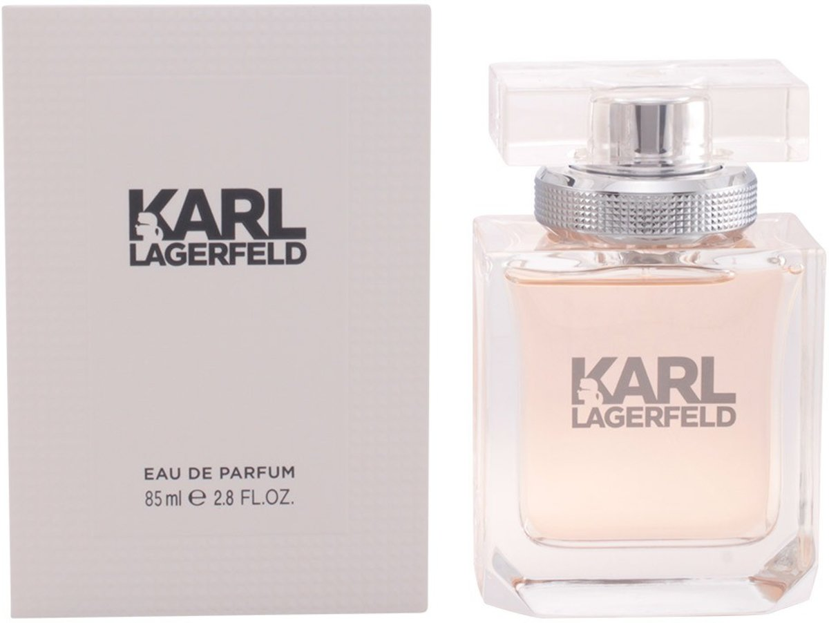 MULTI BUNDEL 2 stuks KARL LAGERFELD POUR FEMME Eau de Perfume Spray 85 ml