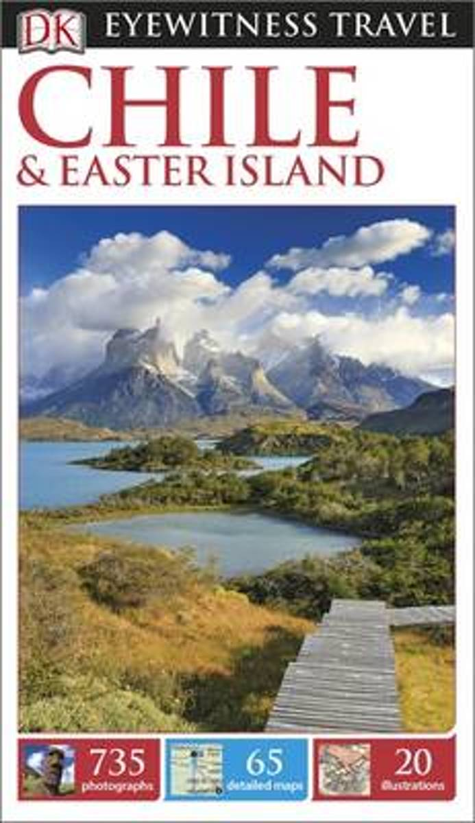 bol.com | DK Eyewitness Travel Guide Chile and Easter Island, DK Publishing  | 9780241198421 | Boeken