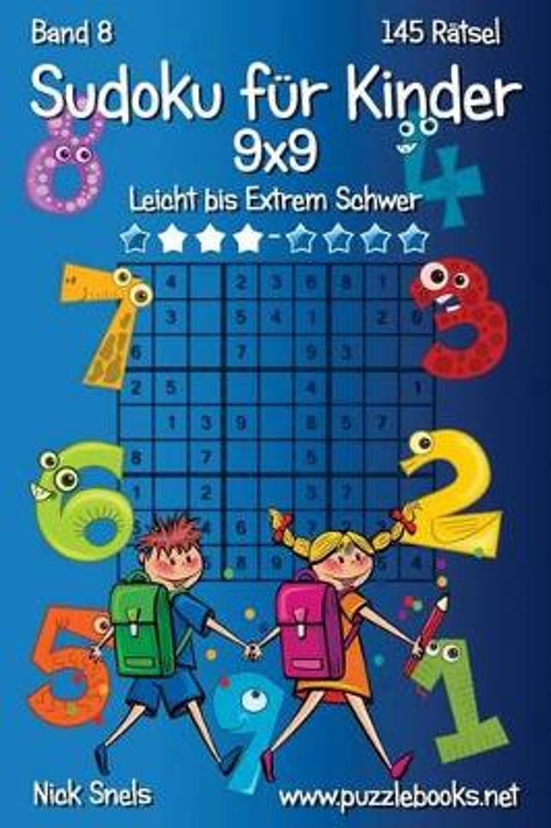 bol.com | Klassisches Sudoku Fur Kinder 9x9 - Leicht Bis Extrem ...