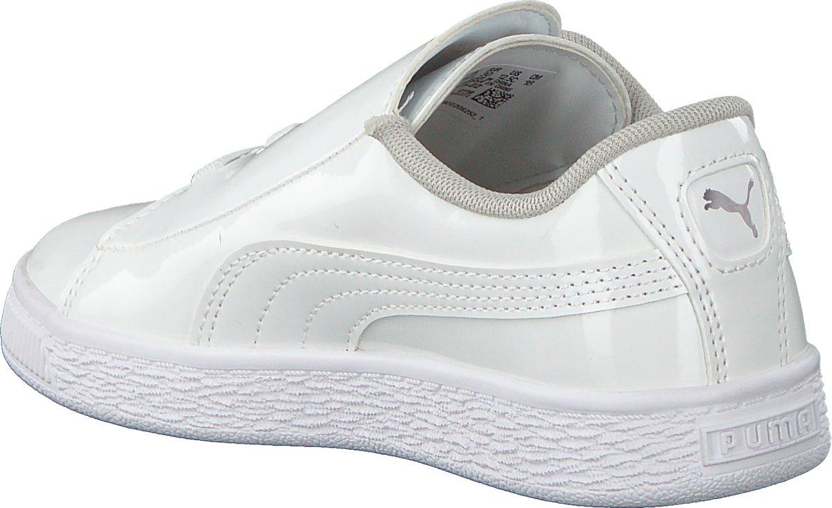 Puma Basket Classic LFS ps sneakers wit Schoenen en Zwart