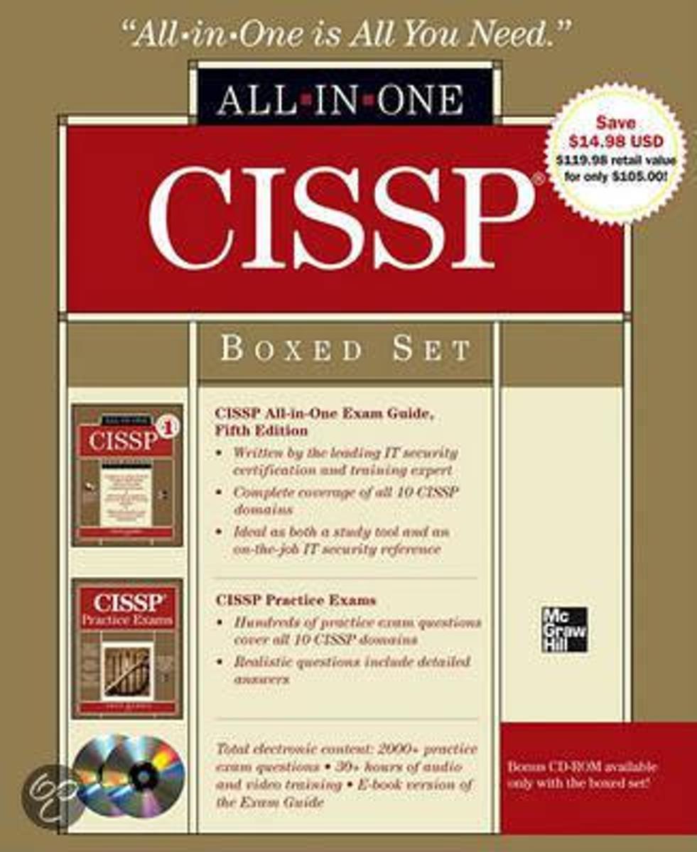 Bol Cissp Boxed Set 9780071768450 Shon Harris Boeken