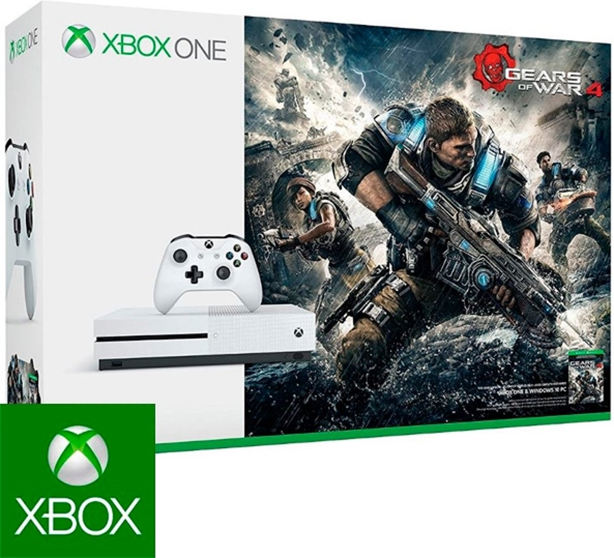 Xbox One S Gears of War 4 console - 1 TB kopen