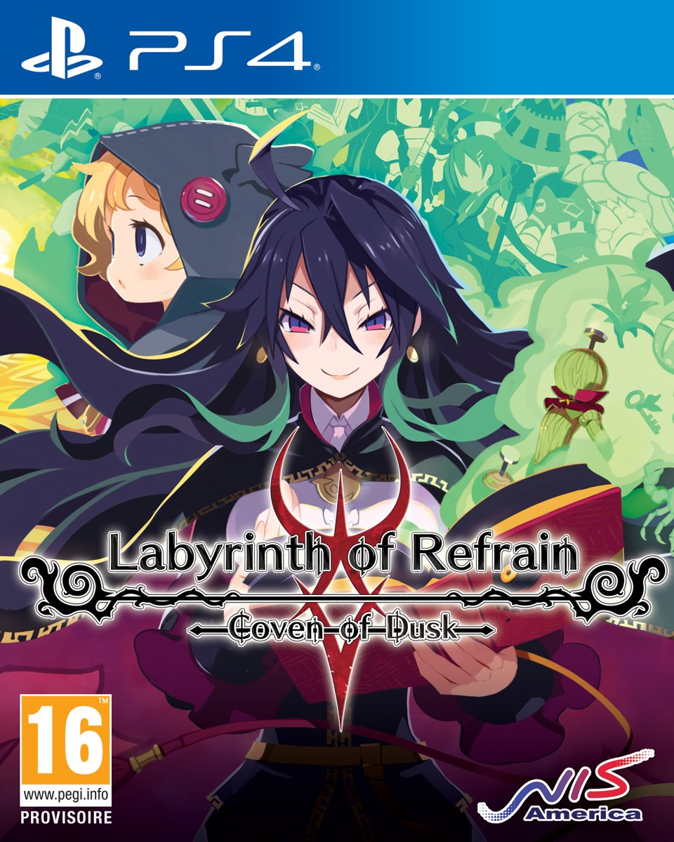 Labyrinth of Refrain Coven of Dusk PlayStation 4
