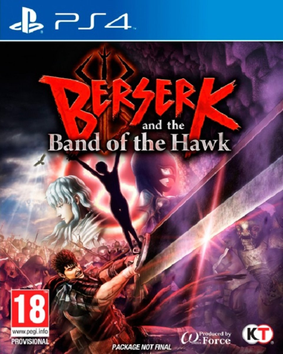 Berserk and the Band of the Hawk PlayStation 4