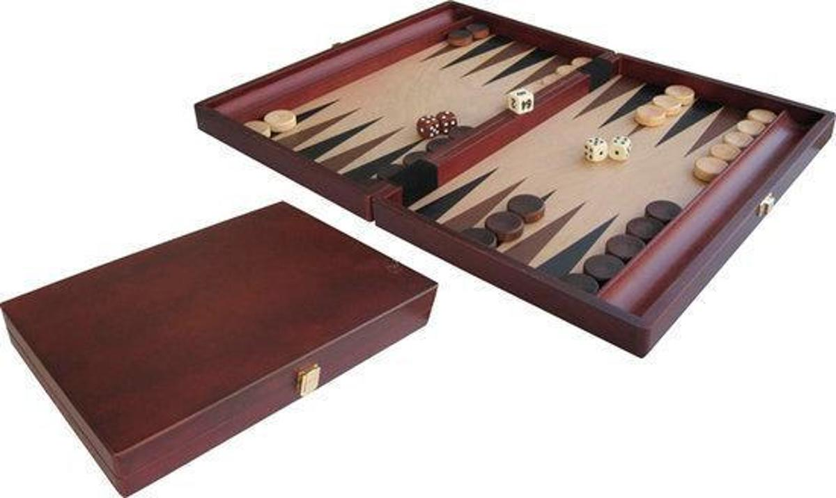 Backgammon Wood Inlay 35x23
