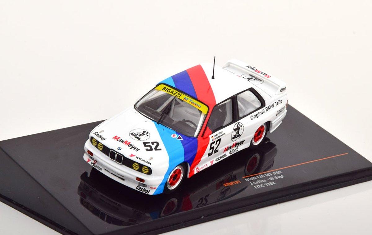 BMW M3 E30 No.52, ETCC 1988 Laffite/Vogt 1-43 Ixo Models