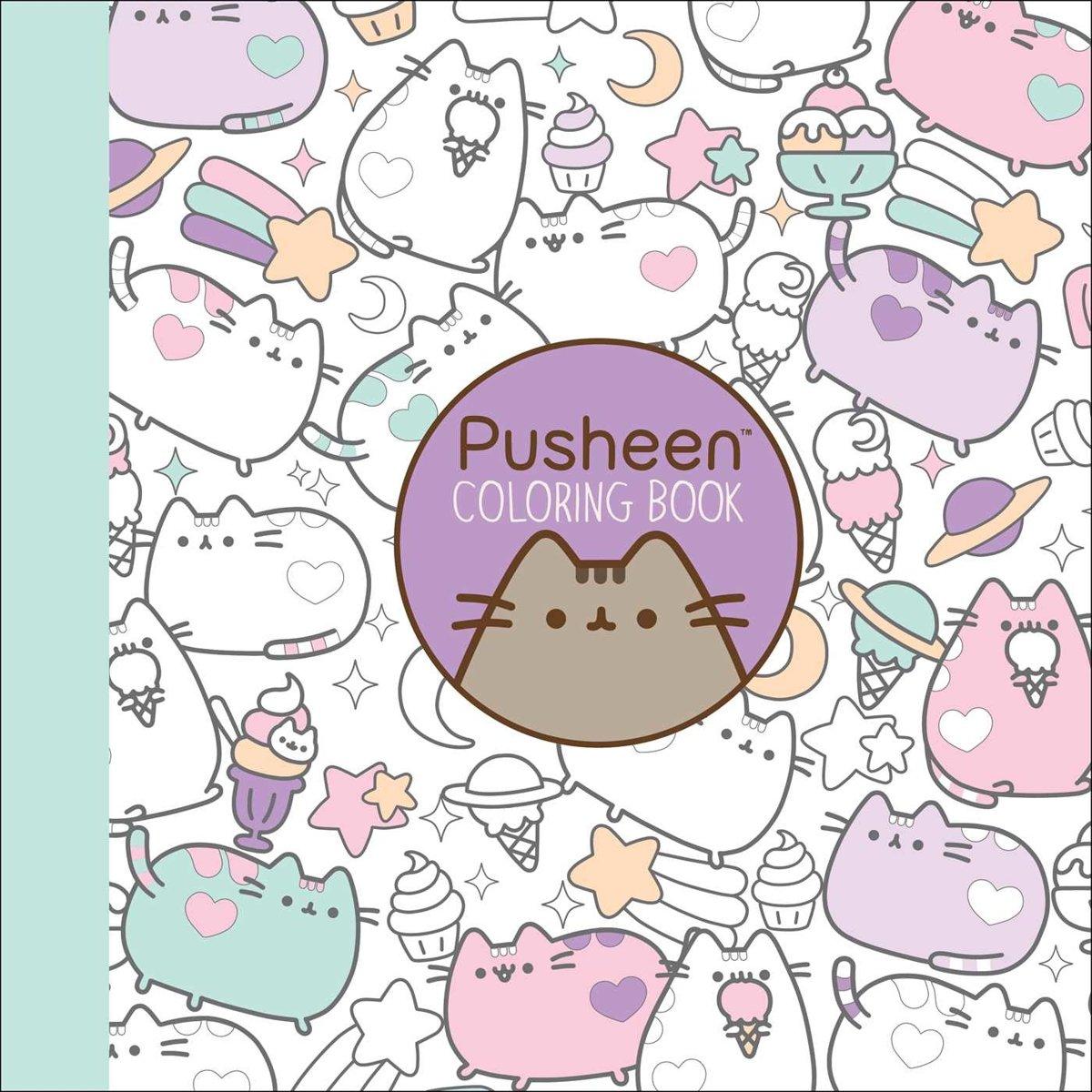 Bol Com Pusheen Coloring Book Claire Belton 9781501164767 Boeken