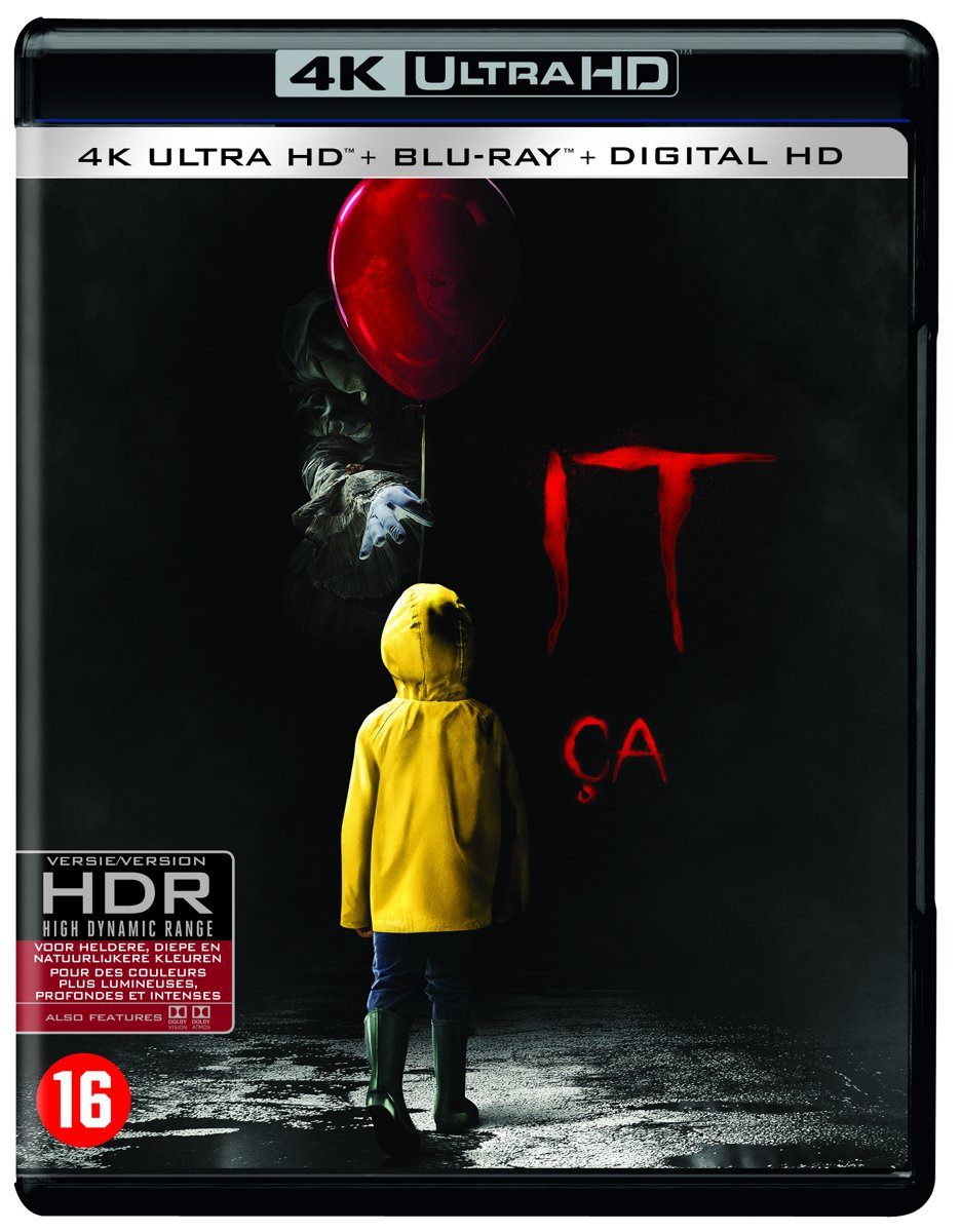 IT: Chapter One (4K Ultra HD Blu-ray)-
