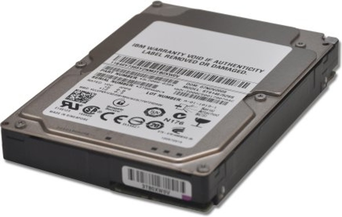 IBM 2TB 3.5'' 7.2k NLSAS 3.5'' 2000 GB SAS kopen