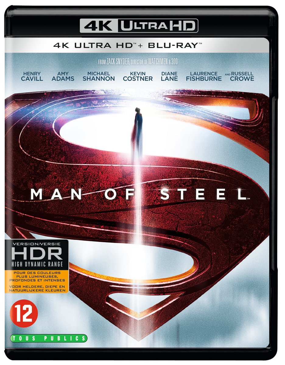 Man Of Steel (4K Ultra HD Blu-ray)-