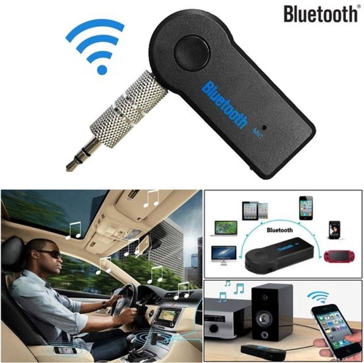 (Bestseller) Bluetooth muziekontvanger | Draadloze bluetooth verbinding | Handsfree Carkit & Thuisgebruik kopen