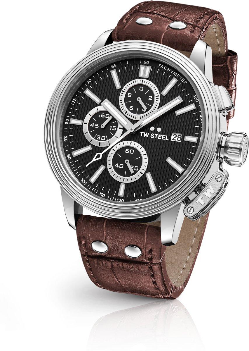 TW Steel CEO Adesso CE7005 - horloge - heren - zilverkleurig - ?45 - chrono kopen