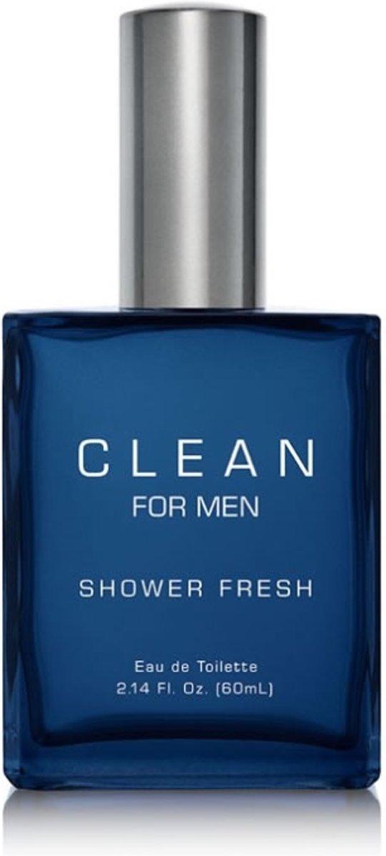Foto van Clean Shower Fresh For Men Edt Spray 100 ml