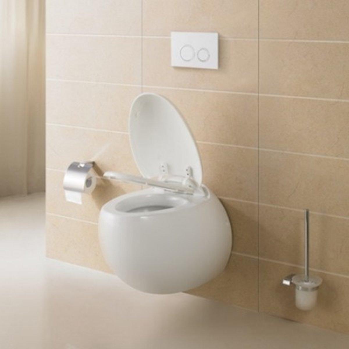 Kalk In De Wc Pot.Bol Com Excellent Wellness Design Hang Toilet Type 661 Met