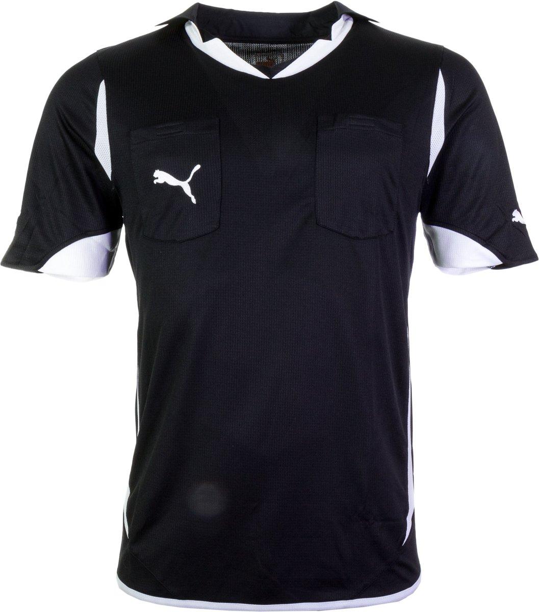 Puma Referee PowerCat 5.10 Shirt Heren Sportshirt Maat XL Mannen zwartwit