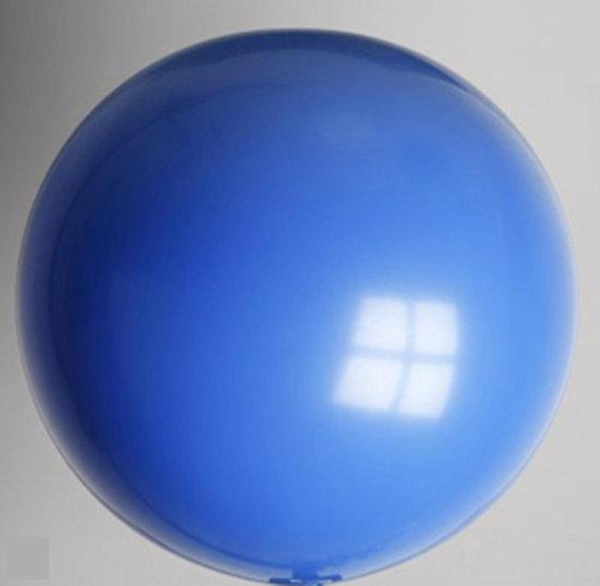 Ballon 91 cm Blauw
