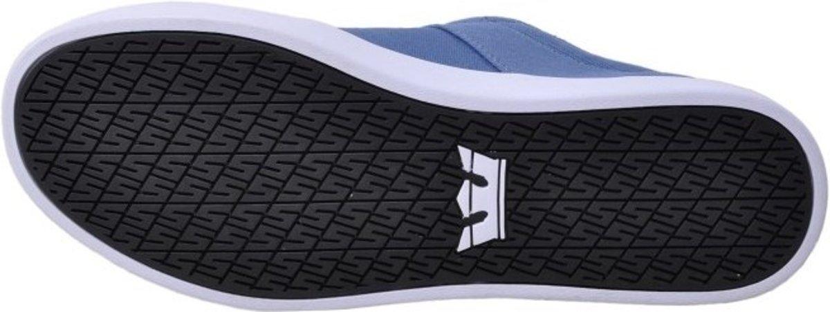Supra Empile Ii Mens Chaussures Denim Bleu Blanc x5tbGdVAhr