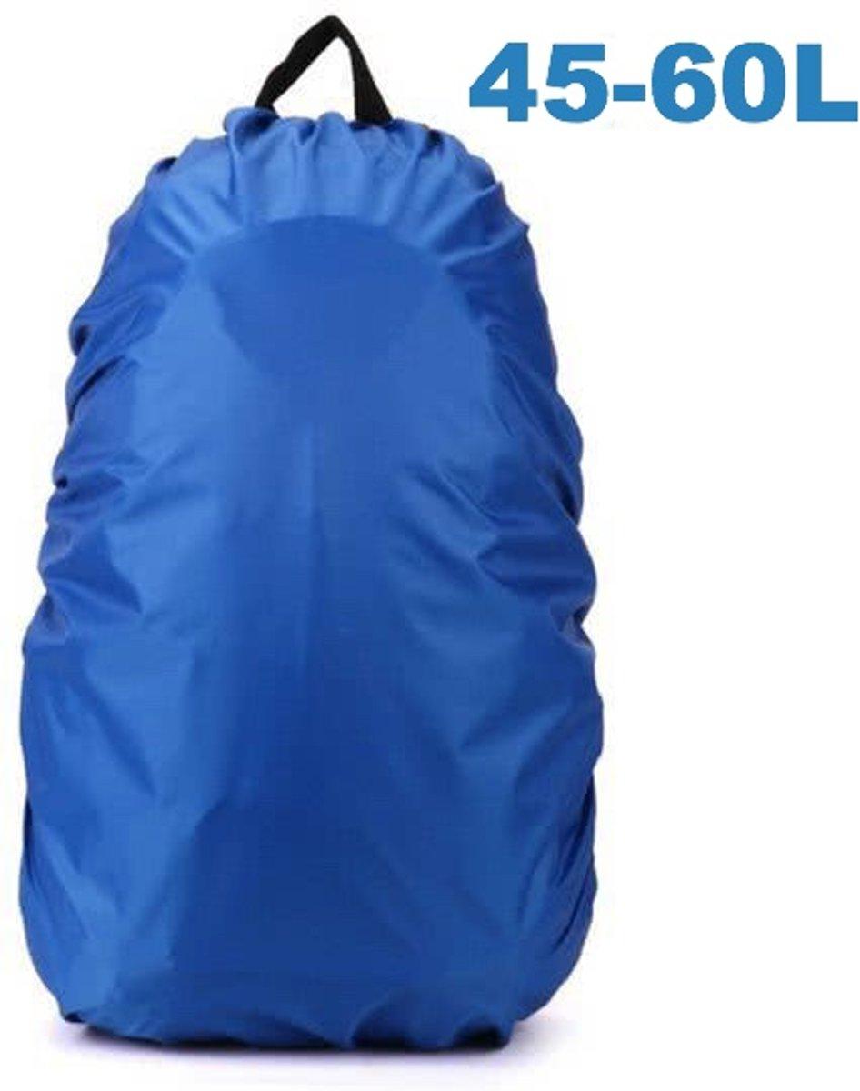 e46f36492f2 ForDig - Flightbag Regenhoes Waterdicht voor Backpack Rugzak - 45-60 Liter  Regenhoes – Blauw